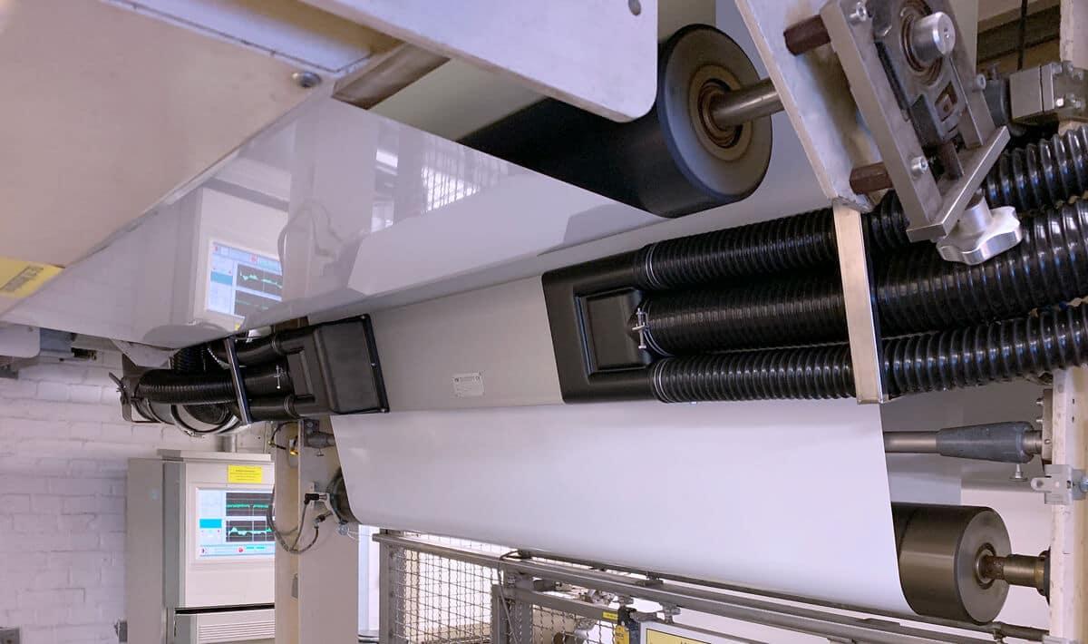 Sihl Düren installs Weducon HE70 web cleaner in polytype coating-line