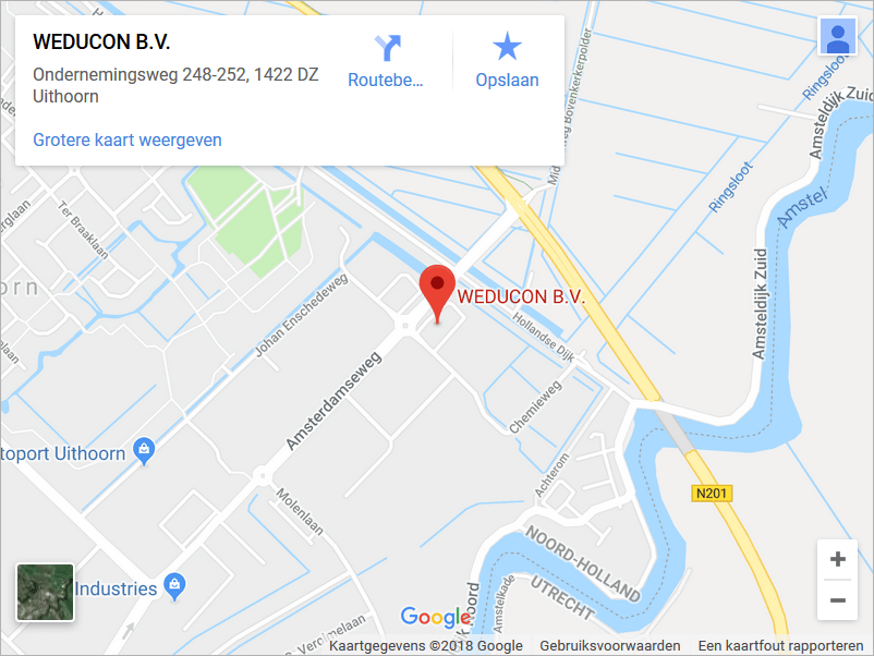 Weducon-Netherlands-Roadmap